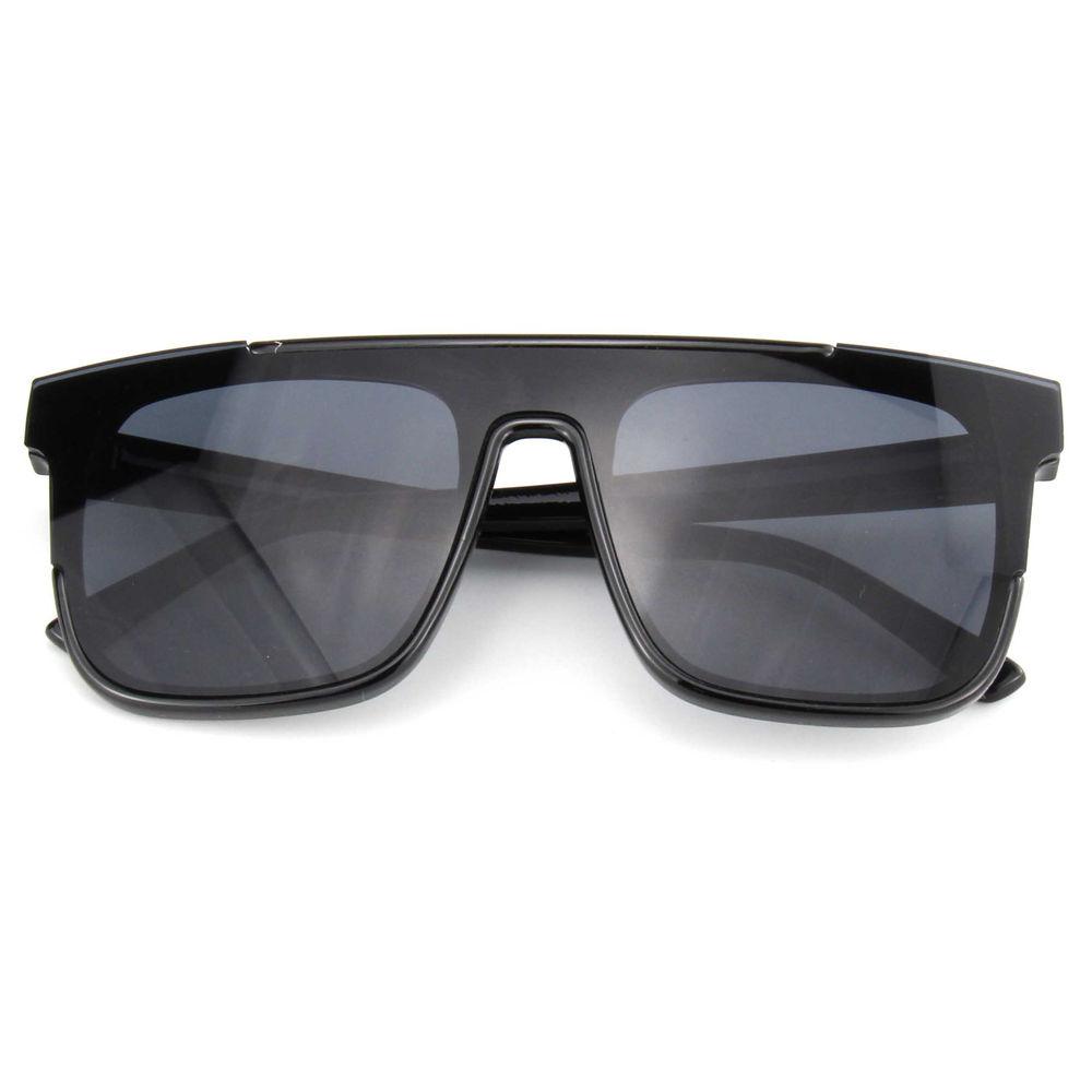 EUGENIA 2021 Trendy Style One Piece Lens Cool Street Unisex Sunglasses