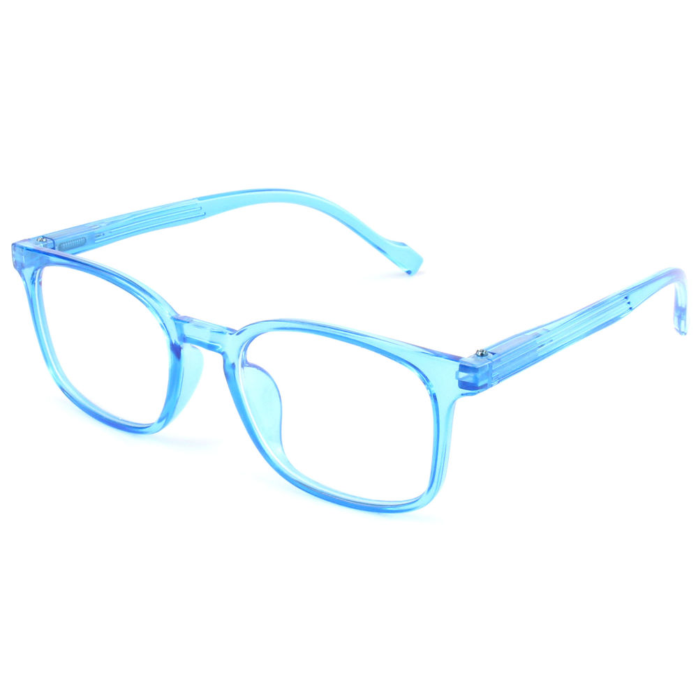 EUGENIA custom logo plastic blue ray blocking reading sunglasses