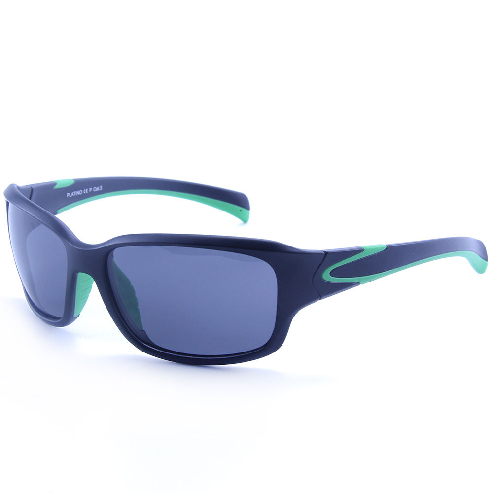 EUGENIA Rubber OEM UV400 Polarized Lens Men Sports Sunglasses