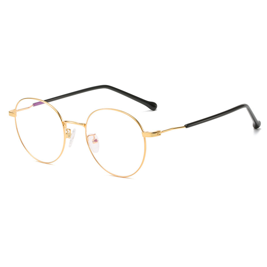 EUGENIA OEM Design Fashion Plastic Women Round Stainless Optical Eyeglasses Frames