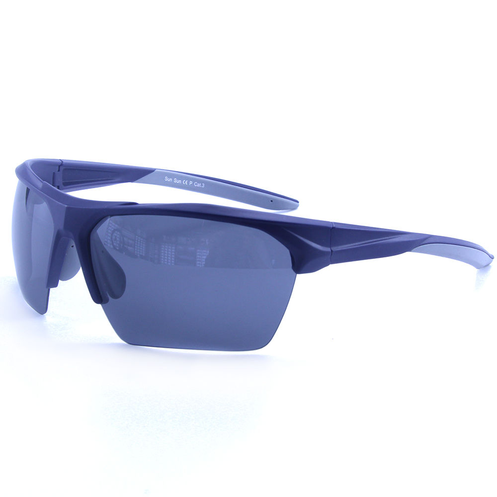 EUGENIA UV400 Men Rubber OEM Polarized Lens Sports Sunglasses