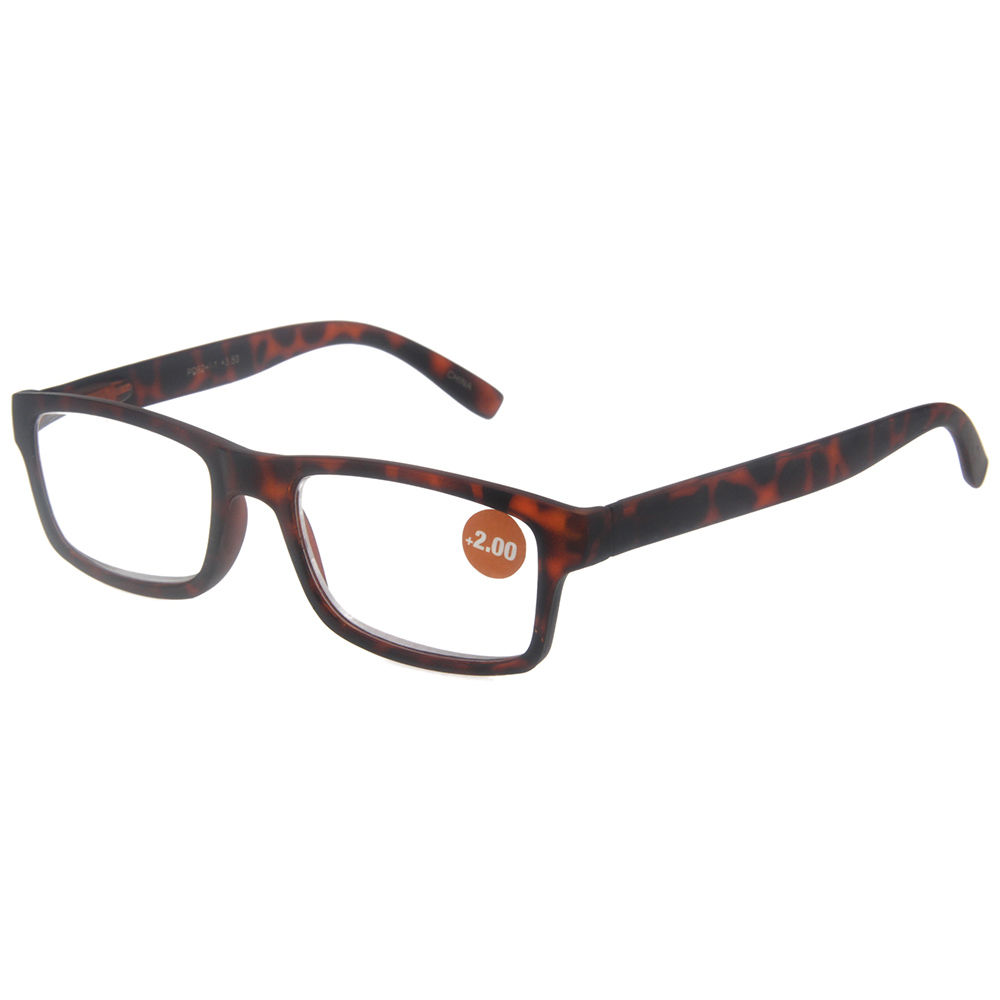 EUGENIA 2020 New Design Hot Selling PC Frame Rubber Reading Glasses