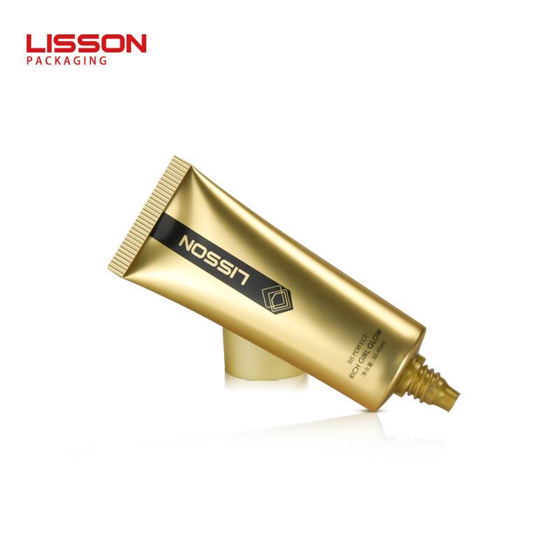 30ml - 45ml oval plastic tube packaging for sunscreen cream BB cream CC cream