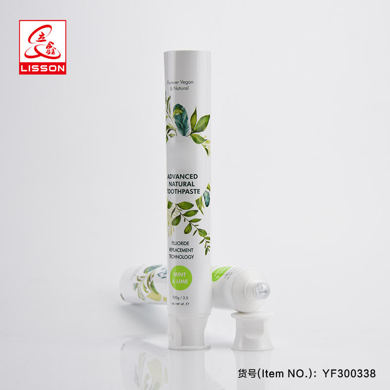 High Quality Collapsible Packaging Ointment Tube Or Toothpaste Tube With Flip-top Cap