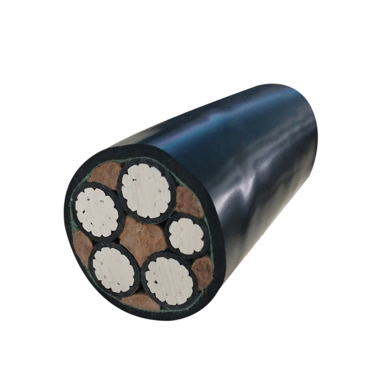 25mm2 70mm2 90mm2 240mm2 4 CoreABC Electric Wire XLPE Aluminum Power Cable