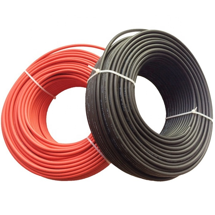 2020 Solar cable wire Photovoltaic PV DC 2.5mm2 4mm2 6mm2 10mm2 16mm2 solar cable for solar panel