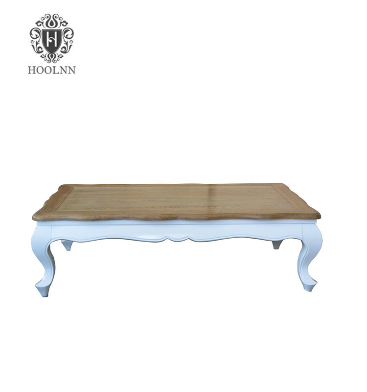French Antique Style Wooden Coffee Table HL310-1