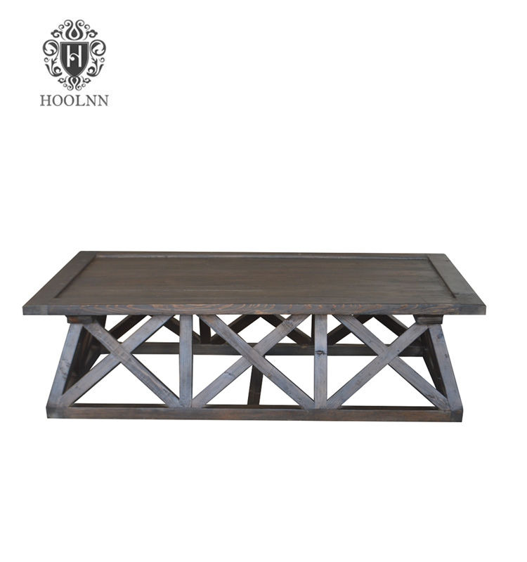 French Country-style Recycled Wooden Coffee Table HL154B