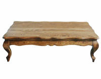 French style Antique Wooden Coffee Table HL310-1-NH