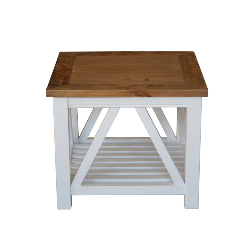 Bennett French Provincial Handcrafted Solid Wood Side Table HL307-8