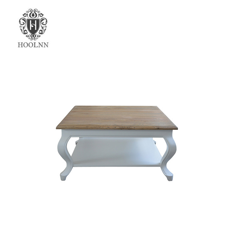 French-style Antique Wooden Coffee Table HL377-90