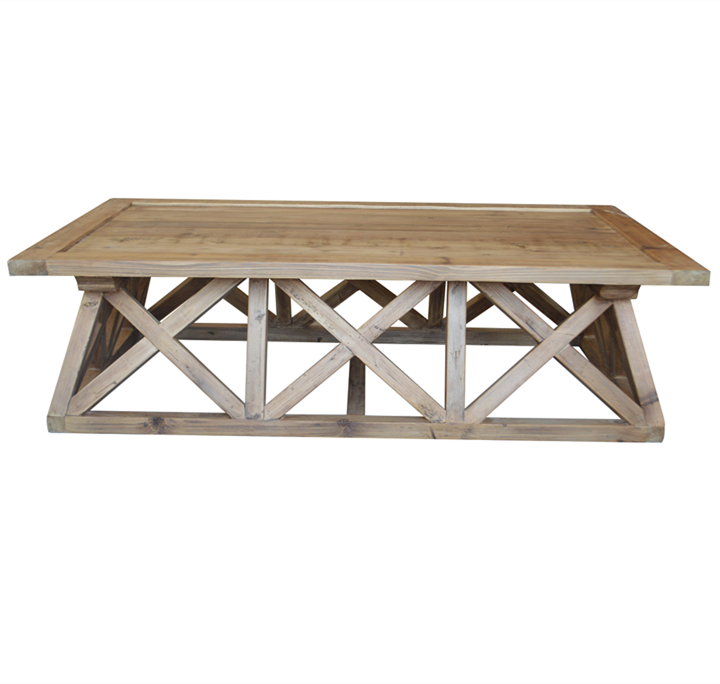 Wooden Vintage Coffee Table