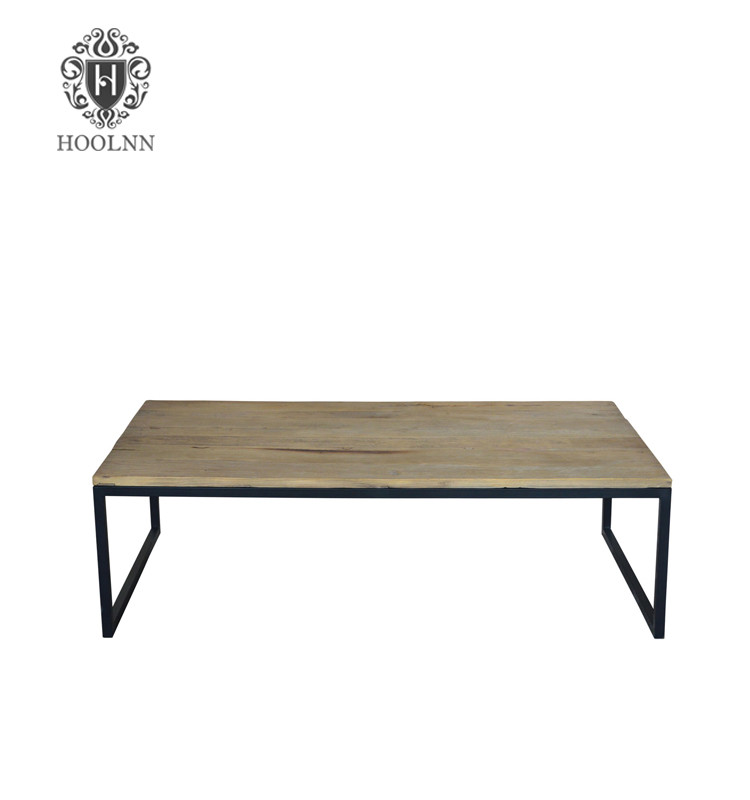 French Provincial Furniture Stainless Steel Coffee Table HL165