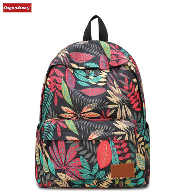 Osgoodway New Products Stylish Roomy Casual Designer School Bags Backpack for Travel Sports Women