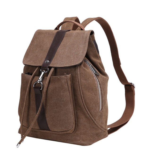 product-Osgoodway New Products Wholesale Cute Canvas Women Backpack for College Children-Osgoodway-i-1