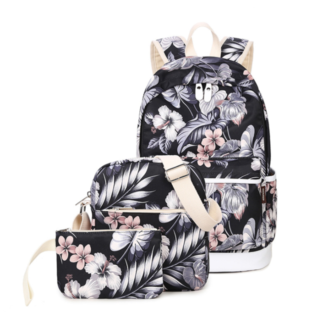 Osgoodway New Products Wholesale Custom Three-in-one College School Bag Girls or Boys for Campus