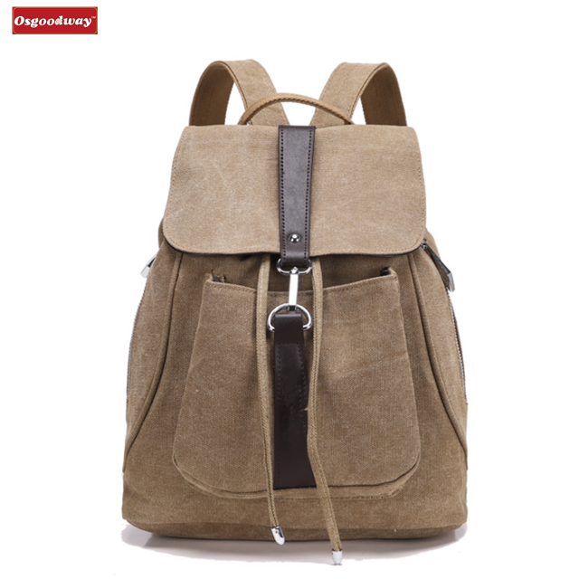 Osgoodway New Products Wholesale Cute Canvas Women Backpack for College Children