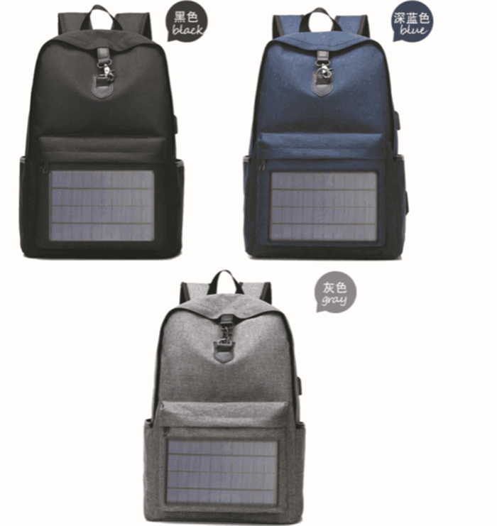 product-Osgoodway-Osgoodway OEM Waterproof Men Travel Solar Panel Business Smart Backpack with USB C