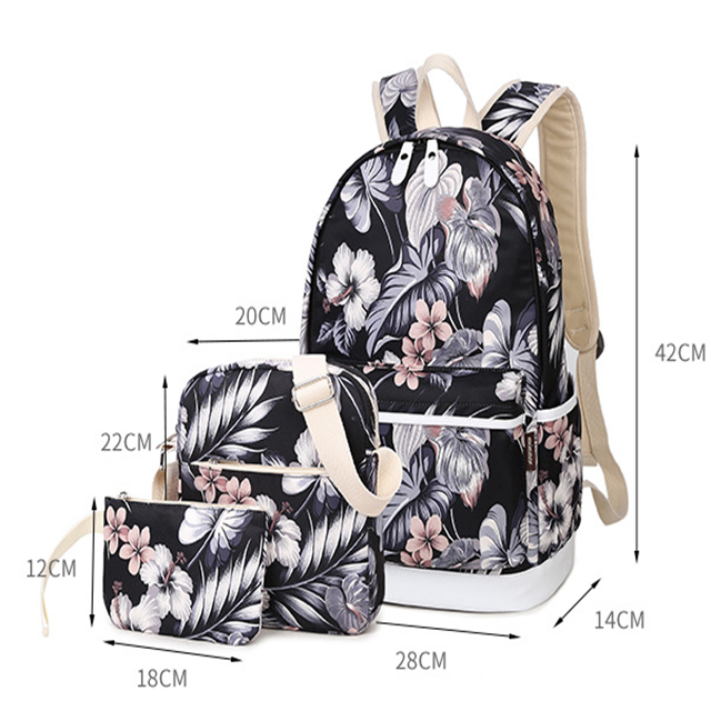 product-Osgoodway New Products Wholesale Custom Three-in-one College School Bag Girls or Boys for Ca-1