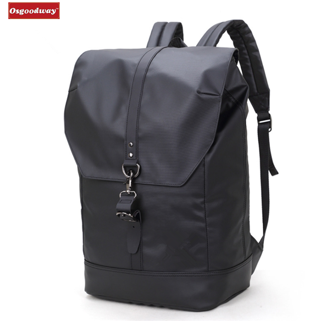 Osgoodway Anti-theft Multifunctional Water Resistant Men Business Rolltop Backpack for Work Travel