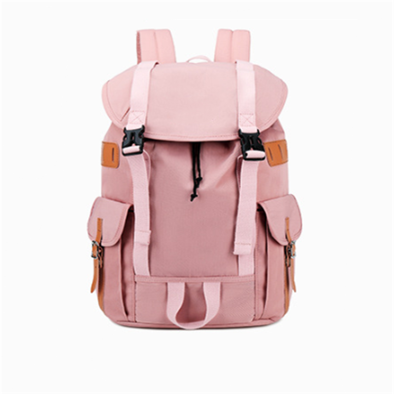 product-Best Selling China Factory OEM Waterproof Korean Style Stylish Girls School Backpack Bag for-1