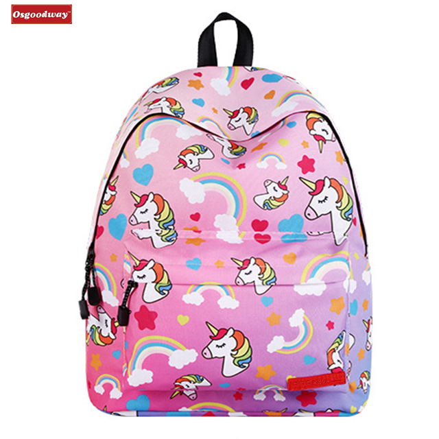 Osgoodway Hot Sale Lightweight Fashion Leisure Cute Kawaii School Backpacks for Girls