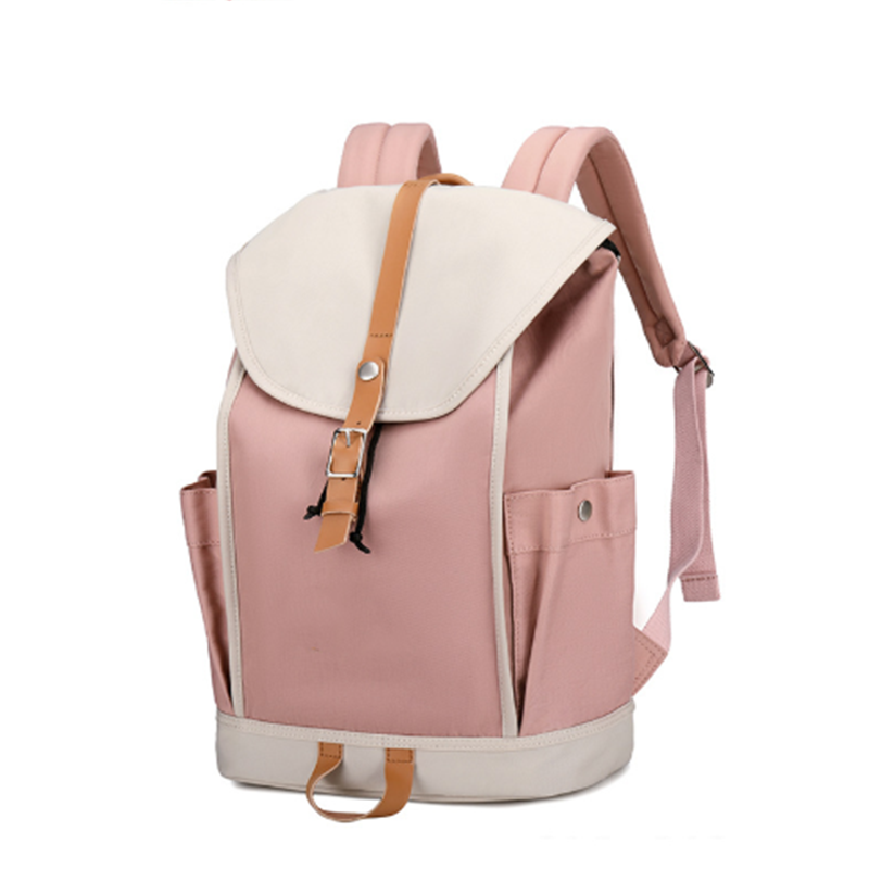 2020 Newest Factory Wholesale Korean Style Designer College Bags Stylish Waterproof Drawstring Backpacks for women campus trip