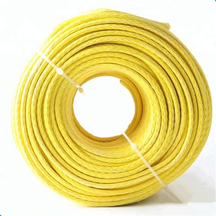 better quality OEM 6mm*200m High quality UHMWPE winch rope