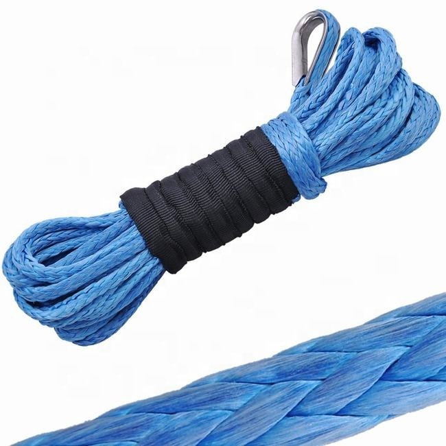 5mmUHMWPE winch rope with thimble