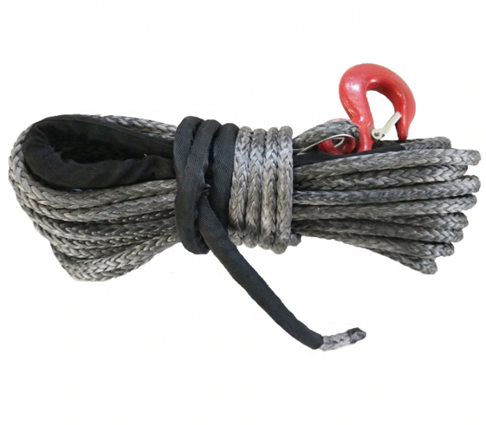 performance UHMWPE braided rope for winch or sailing