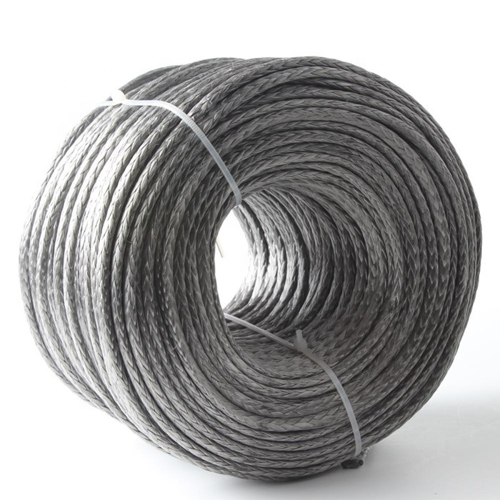 6mmUHMWPE rope for tow& winch