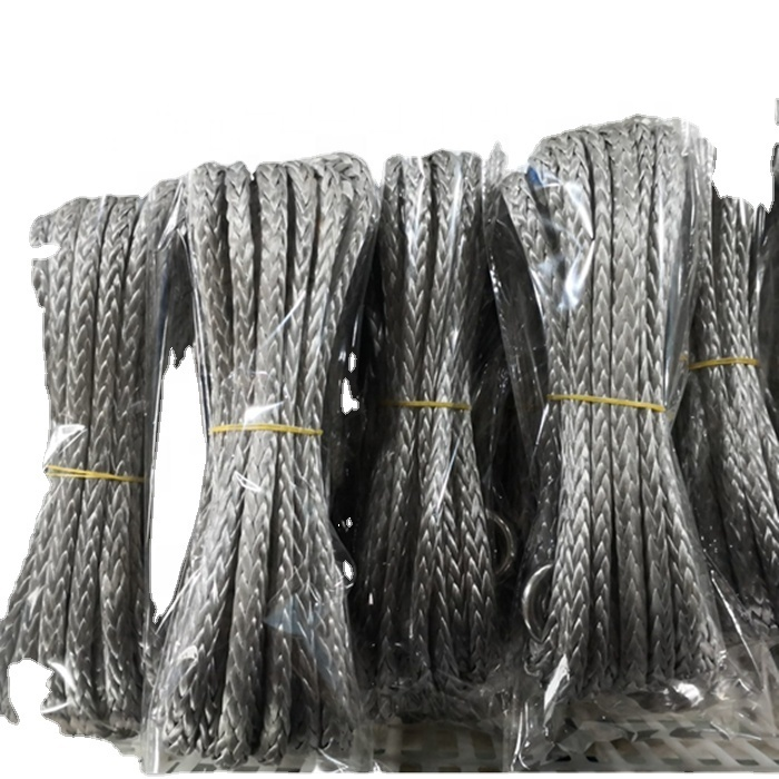 High performance customized package UHMWPE braided rope for winch or sailing