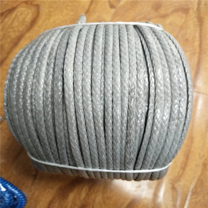 High performance UHMWPE braided rope tow rope lifting ropefor winch or sailing