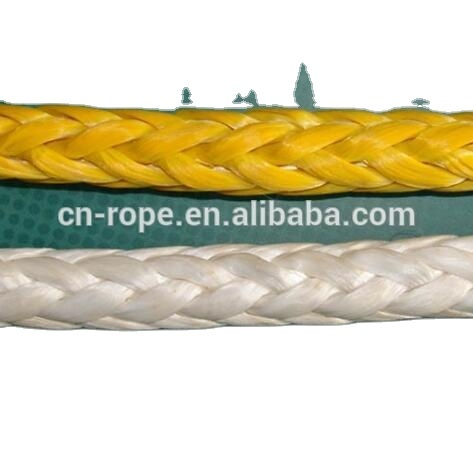 High quality UHMWPE braidedrope lifting ropefor winch, towing, or sailing, etc