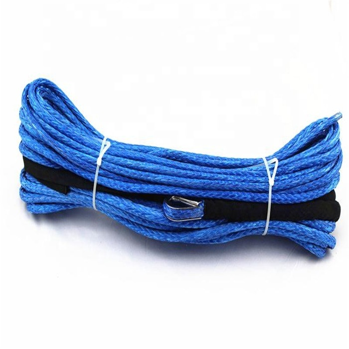 Top performance customized package and sizebraided rope for winch or sailing