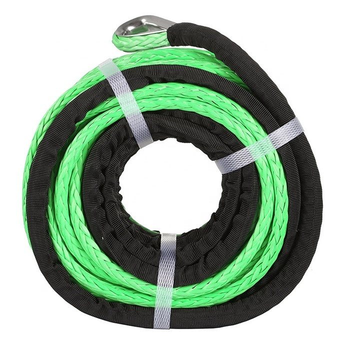 High quality customized package and sizeUHMWPE braided rope tow rope lifting ropefor winch or sailing, etc