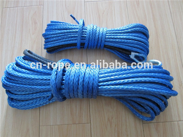 High quality customized package and sizebraided rope for winch or sailing, tow rope
