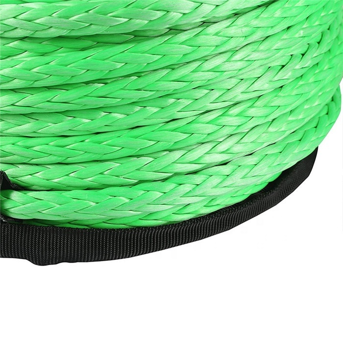 Top quality customized package and sizeUHMWPE braided rope tow rope lifting ropefor winch or sailing, etc
