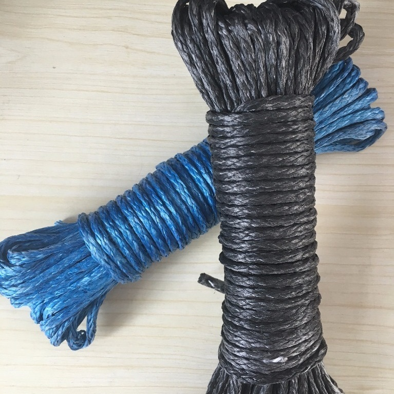 High quality and performancecustomized package and sizeUHMWPEbraided rope for winch, gliding, or sailing, etc