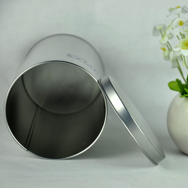 Factory top selling silver spice tin cans