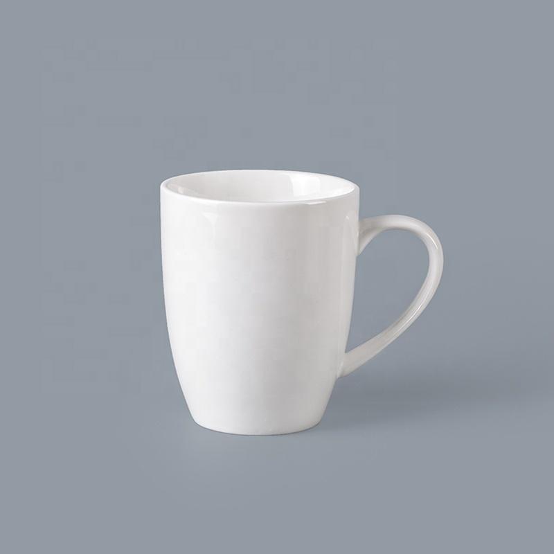 Bulk Crockery Tableware 280ml Mug With Handle, Crockery Restaurant Custom Logo Ceramic Coffee Mug*