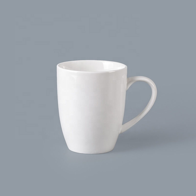 Bulk Crockery Tableware 280ml Mug With Handle, Crockery Restaurant Custom Logo Ceramic Coffee Mug*