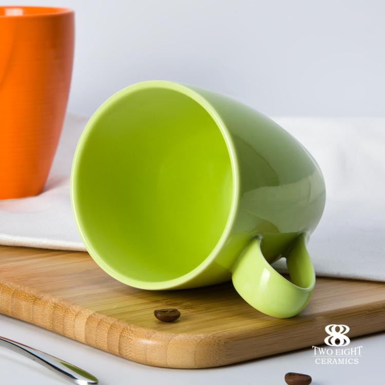 Color coffee mug porcelain mug cup with handle