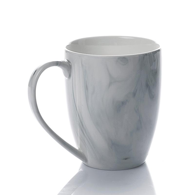 Restaurant Coffee Mug Supply Modern Crockery Set Tableware Fancy Glazed Marble Mug>