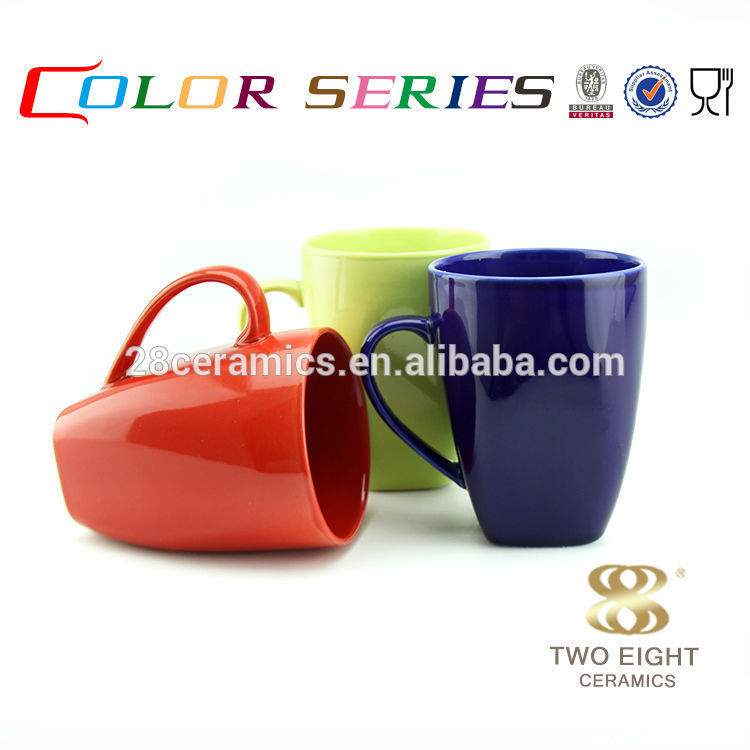 cheap crockery cup prices high end red/green/red ceramic mug
