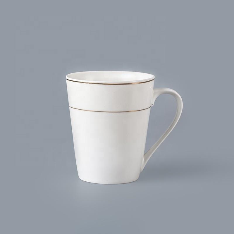 Cheap Bulk Crockery Porcelain 260ml Coffee Mugs For Restaurant, Crockery Restaurant Mug Cafe*