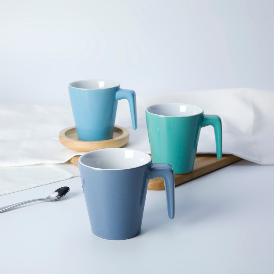 color hotel tableware restaurant coffee mug without lid