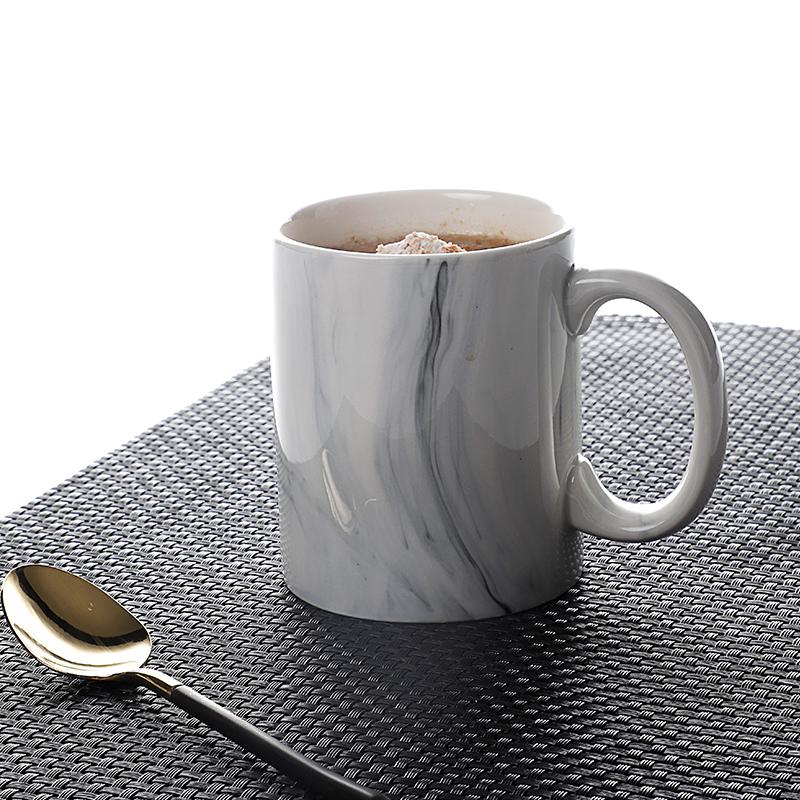 Cheap Modern 360ml Ceramic Mug, Restaurant Home Gift Customize Fine Porcelain Mugs