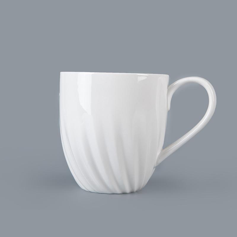 Dependable porcelain tableware supplier best price eco ware white porcelain coffee mug white custom ceramic dinner mug