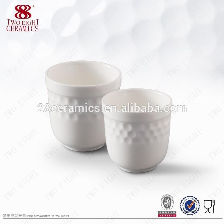 branded custom printed logo bulk banquet hotelware ceramic oversized tea cups sets and saucer no handle